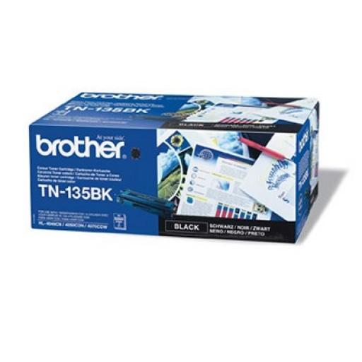 Brother TN135BK, Toner Cartridge- HC Black, DCP9040, 9042, HL4040, 4050, MFC9440, 9450- Genuine