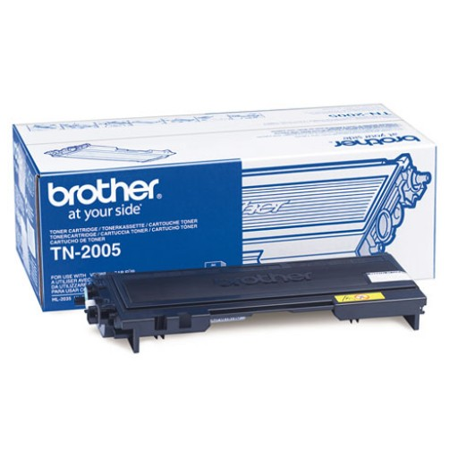 Brother TN2005, Toner Cartridge- Black, HL2035, HL2037- Genuine