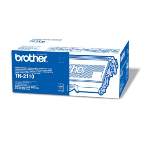 Brother TN2110, Toner Cartridge- Black, HL2150, 2170, DCP7030, 7040, MFC7320, 7440- Genuine