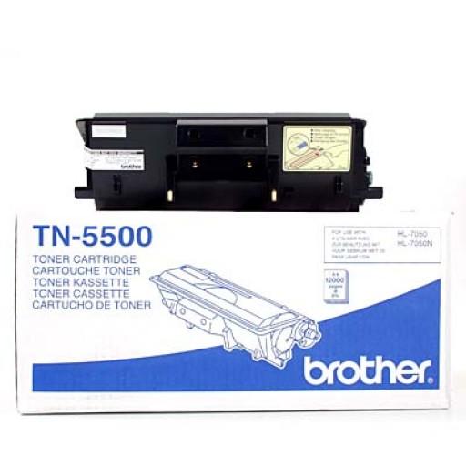 Brother TN5500, Toner Cartridge Black, HL7050- Original