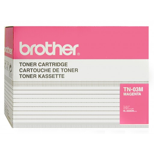 Brother TN-03M, Toner Cartridge- Magenta, HL-2600- Original