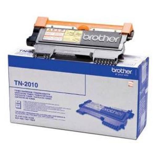 Brother TN2010, Toner Cartridge- Black, DCP7055, HL2130, HL2132- Original