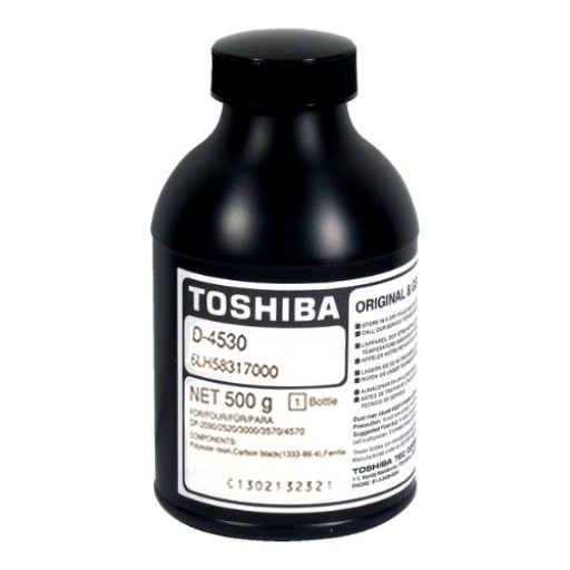 Toshiba D-4530 Developer, E Studio 205L, 206L, 255, 256, 305, 306, 355, 356, 455, 456, 506 - Black Genuine