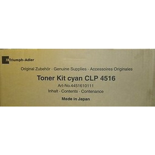 Triumph-Adler CLP4516 Toner Cartridge - Black Genuine (4451610110)
