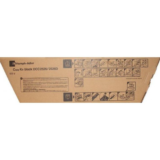 Triumph-Adler 652610115, Toner Cartridge Black, DCC2526- Original
