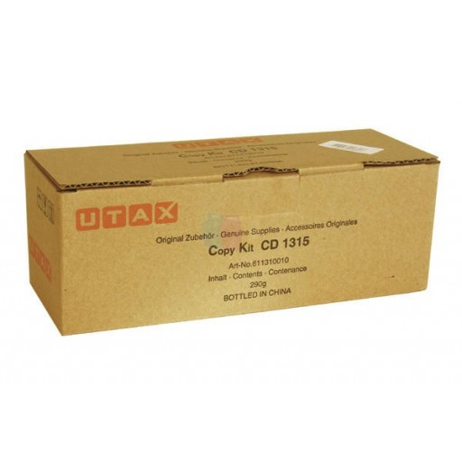 UTAX 611310015, Toner Cartridge Black, CD1315- Original