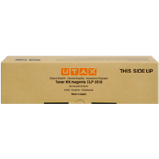 UTAX CLP 3516 Toner Cartridge - Cyan Genuine (4451610011)