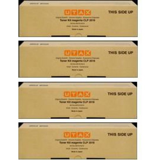 UTAX CLP 3516 Toner Cartridge - Value Pack Genuine