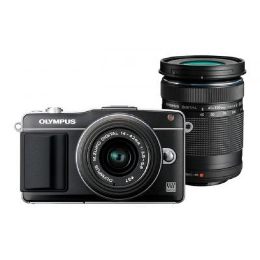 Olympus PEN E-PM2 Twin Kit Camera