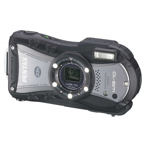 Pentax WG-10, Waterproof Digital Camera- Black