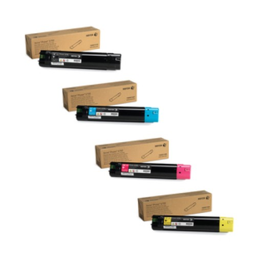 Xerox 006R014, Toner Cartridge Multipack, WorkCentre 7120, 7125, 7220, 7225 - 4 Colour Genuine