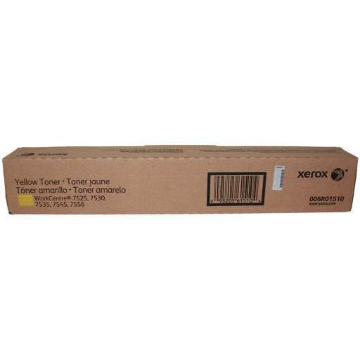 Xerox 006R01510, Toner Cartridge Yellow, WorkCentre 7525, 7428, 7530, 7535, 7545, 7556- Original