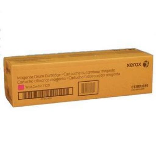 Xerox 013R00659, Drum Cartridge Magenta, WorkCentre 7120, 7125, 7220, 7225- Original