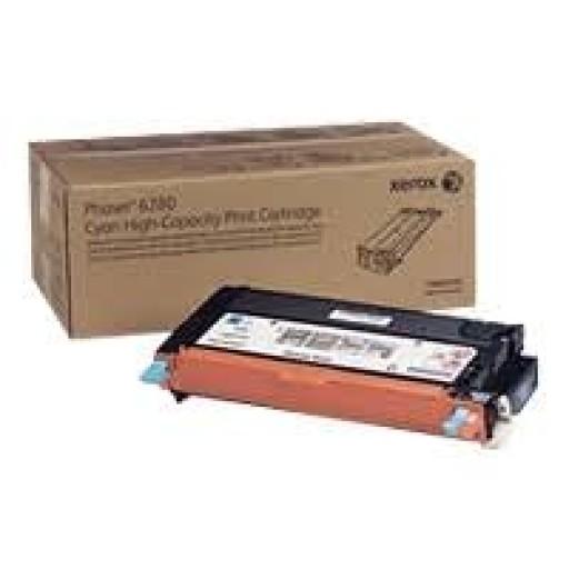 Xerox 106R01404 Metered Toner Cartridge Cyan, Phaser 6280 - Genuine