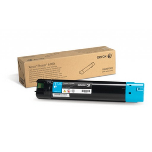 Xerox 106R01503, Toner Cartridge Cyan, Phaser 6700- Original