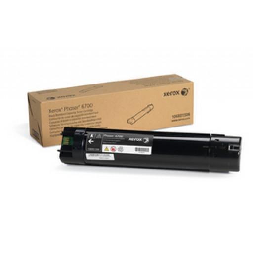Xerox 106R01506, Toner Cartridge Black, Phaser 6700- Original