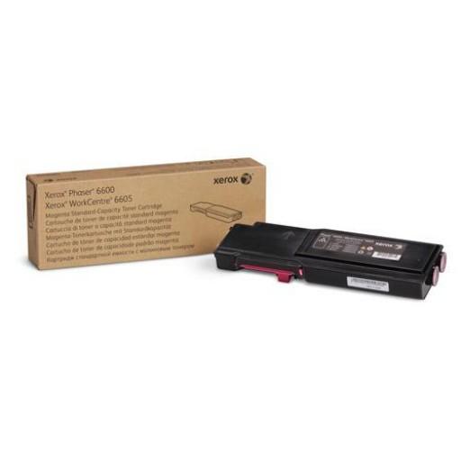 Xerox 106R02246, Toner Cartridge Magenta, Phaser 6600, WorkCentre 6605- Original