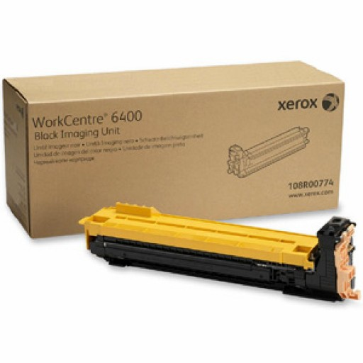 Xerox 108R00774 Drum Cartridge, WorkCentre 6400 - Black Genuine