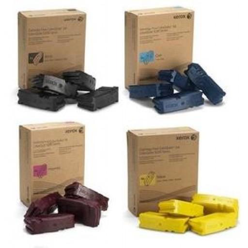 Xerox 108R008, Solid Ink Sticks Colour Multipack x 16, ColorQube 9201, 9202, 9203, 9301- Original