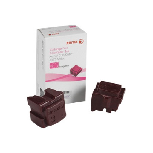 Xerox 108R00932 Solid Ink Sticks, ColorQube 8570 - Magenta Genuine