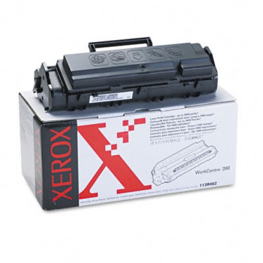 Xerox 113R462 Toner Cartridge, WorkCenter 390 - Black Genuine