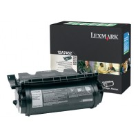 Lexmark 12A7462, Toner Cartridge- HC Black, T630, T632, T634, X632- Genuine