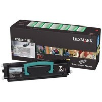 Lexmark E352H11E, Toner Cartridge Black, E350- Original