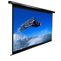 Elite ELECTRIC120V-WHITE Electric Spectrum Projection Screen