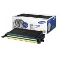 Samsung CLP-Y660A, Toner Cartridge Yellow, CLP-610, 660, CLX-6200, 6210, 6240- Original