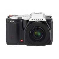 Pentax Imaging K-01 Black Single Kit Camera + 40mm Lens