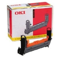 Oki 41304109, Image Drum Unit- Yellow, C7200, C7400- Original