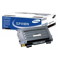 Samsung CLP-510D7K Toner Cartridge - HC Black Genuine