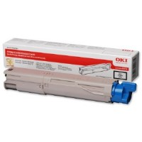 Oki 43459436 Toner Cartridge Black, C3300,  C3400, C3450, C3600- Genuine