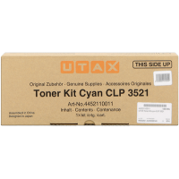 UTAX 4452110011, Toner Cartridge- Cyan, CLP 3521- Original