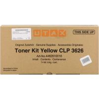 UTAX 4462610016, Toner Cartridge Yellow, CLP 3626, CLP 3630- Original