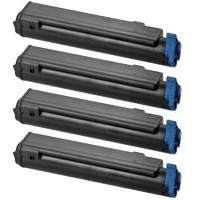 Oki 4650761, Toner Cartridge Multipack, C712dn, C712n- Original
