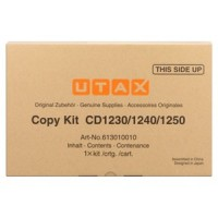 UTAX 613010010, Toner Cartridge- Black, CD1230, CD1240, CD1250- Genuine