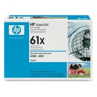 HP 61X HP 4100, 4101 Toner Cartridge - HC Black Genuine (C8061X)