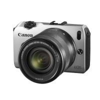 Canon EOS M Silver Compact System Camera + 18-55mm lens