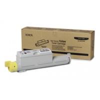 Xerox 106R01220, Toner Cartridge- HC Yellow, Phaser 6360- Original
