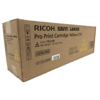 Ricoh 828186, Toner Cartridge Yellow, Pro C651EX, C751EX- Original