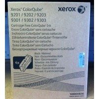 Xerox 108R00836, Color Qube Ink- Black, 9201, 9202, 9203- Original