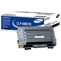 Samsung CLP-500D7K, Toner Cartridge Black, CLP-500, 550- Original