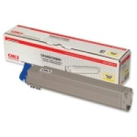 Oki 42918913, Toner Cartridge Yellow, C9600, C9650, C9800, C9850- Original