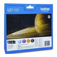 Brother LC1100VALBP, Ink Cartridge Multipack, MFC6490CW, 6890CDW, DCP585CW, 6690CW- Original