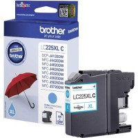 Brother LC225XLC, Ink Cartridge HC Cyan, DCP-J4120, MFC-J4420, J4620, J4625- Original