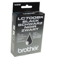 Brother LC700BK, Toner Cartridge Black, DCP-4020C, MFC-4820C- Original