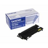 Brother TN2000, Toner Cartridge- Black, DCP7010, 7020, HL2030, 2040, MFC7225, 7420- Original