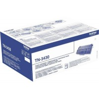 Brother TN3430, Toner Cartridge Black, DCP-L5500, HL-L5000, L6400, L6900- Original