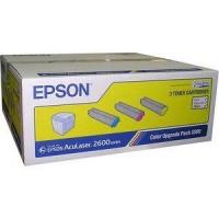 Epson C13S050289, Toner Cartridge Cyan, Magenta, Yellow, AcuLaser C2600- Original